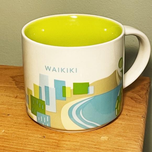 "Starbucks Waikiki, Hawaii ""You Are Here"" mug"